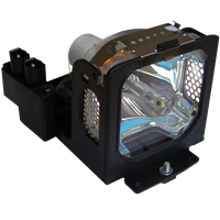 Diamond Lamp for EIKI LC-WB40 Projector with a Ushio bulb inside housing