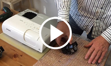 Epson lamp replacement video